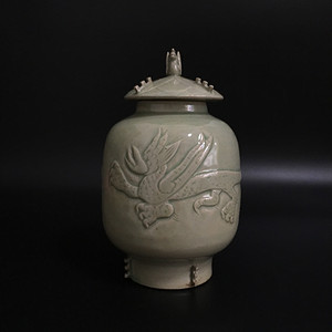 越窑茶叶罐