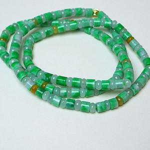 冰润绿精美项链