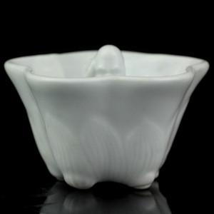 9清晚期德化窑白釉公道杯