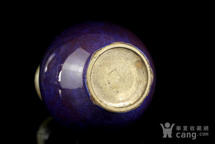 24清中窑变釉敞口瓶图6