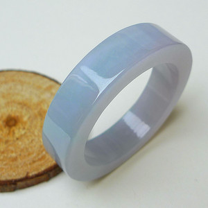 冰润水蓝平安环挂件