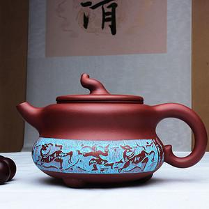 中华第一刀 陈复澄陶刻作品:葫芦
