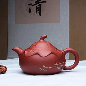 紫砂大师季益顺四大美女系列之:西施浣纱!