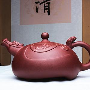 紫砂大师季益顺作品:龙马精神!