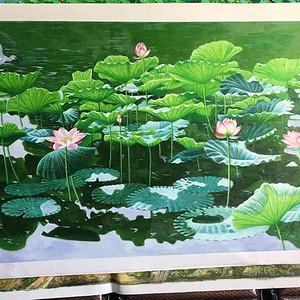 殿堂级收藏精品油画,著名画家张木林老师《满堂和气》180 90