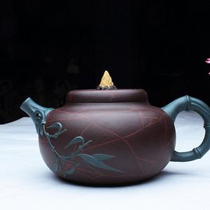 紫砂大师季益顺 研高 作品:春笋