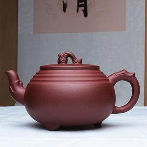 紫砂大师季益顺作品:吉祥如意!