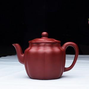 朱泥大红袍制作,小品莲花