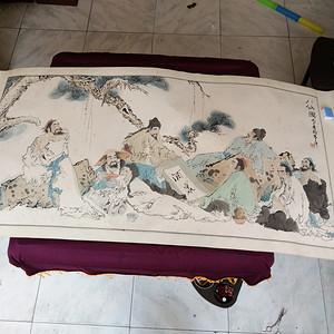 1996年作于重庆  八仙图