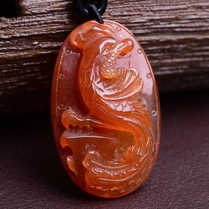 红兔毛凤凰水晶