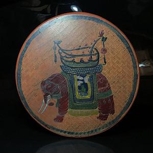 民国时期老仿漆盒 首饰盒一件