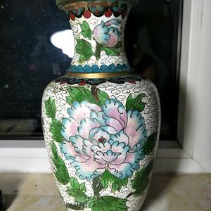 精品景泰蓝花瓶