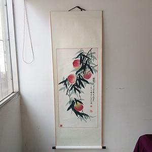 丁亥年 国仲 寿桃图