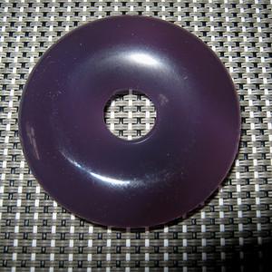 天然紫玛瑙大平安扣