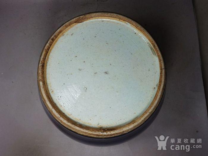 乾隆蓝釉罐图5
