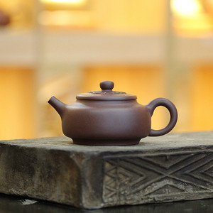 《小周盘》吴亚强 作者认证 宜兴名家紫砂壶