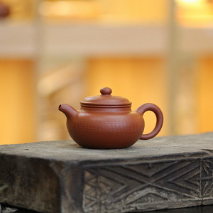 《心经仿古》吴亚强 作者认证 宜兴名家紫砂壶