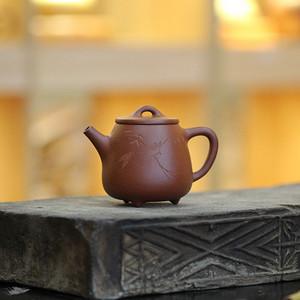 《高石瓢》吴亚强 作者认证 宜兴名家紫砂壶