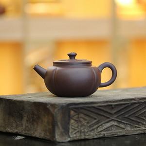 《菱花菊瓣》吴亚强 作者认证 宜兴名家紫砂壶