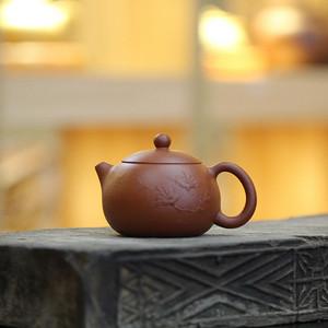 《泥绘西施》吴亚强 作者认证 宜兴名家紫砂壶