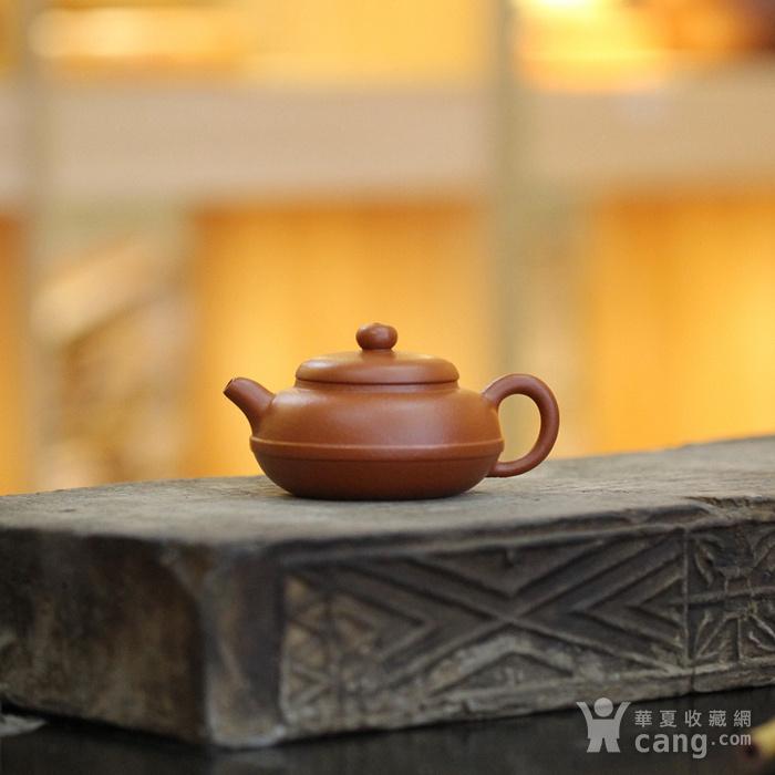 《线圆》吴亚强 作者认证 宜兴名家紫砂壶图1