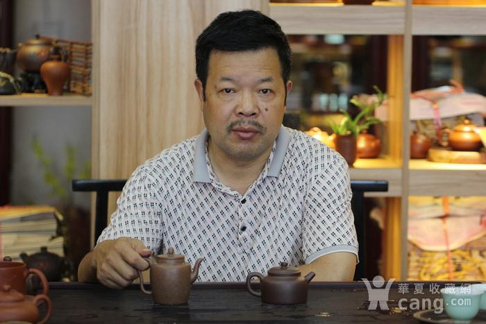《心经笑樱》吴亚强 作者认证 宜兴名家紫砂壶图2