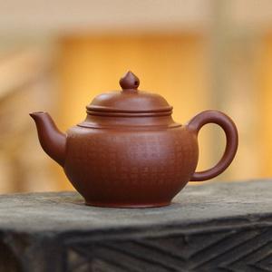 《心经笑樱》吴亚强 作者认证 宜兴名家紫砂壶