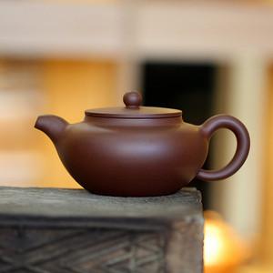 《平盖莲子》吴亚强 作者认证 宜兴名家紫砂壶