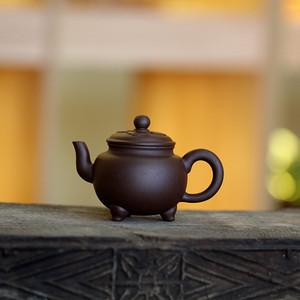 《三足炉鼎》吴亚强 作者认证 宜兴名家紫砂壶
