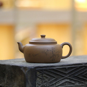 《佛缘》付清华 作者认证 宜兴名家紫砂壶