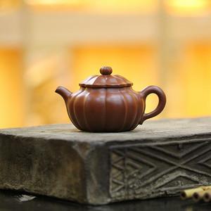《菱花供菊》付清华 作者认证 宜兴名家紫砂壶