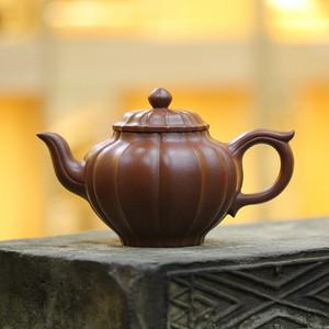 《菱花笑樱》付清华 作者认证 宜兴名家紫砂壶