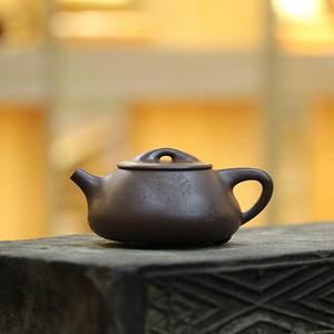 《满瓢》付清华 作者认证 宜兴名家紫砂壶
