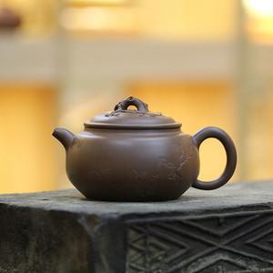 《梅香》付清华 作者认证 宜兴名家紫砂壶