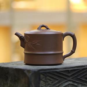 《一品竹》付清华 作者认证 宜兴名家紫砂壶