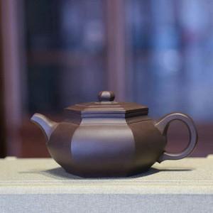 《大彬六方》徐国芬 作者认证 宜兴名家紫砂壶