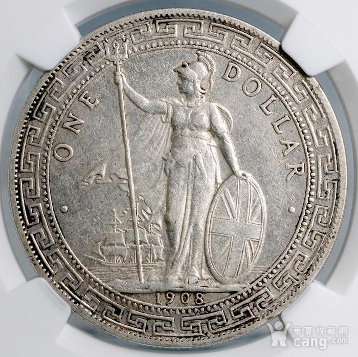 美品银币占洋一枚 D6 NGC 认证图4