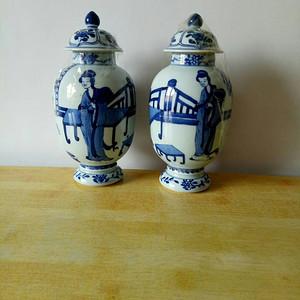 联盟 青花瓶