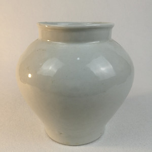 联盟 民国白釉敞口罐