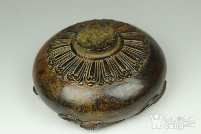早期收藏回流老铜香炉图4