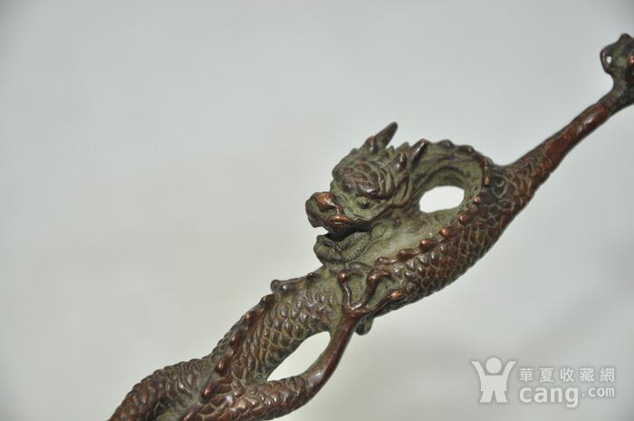 日本茶道铸铜挑盖器图3