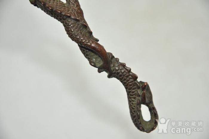 日本茶道铸铜挑盖器图4