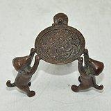 日本茶道铸铜小摆件