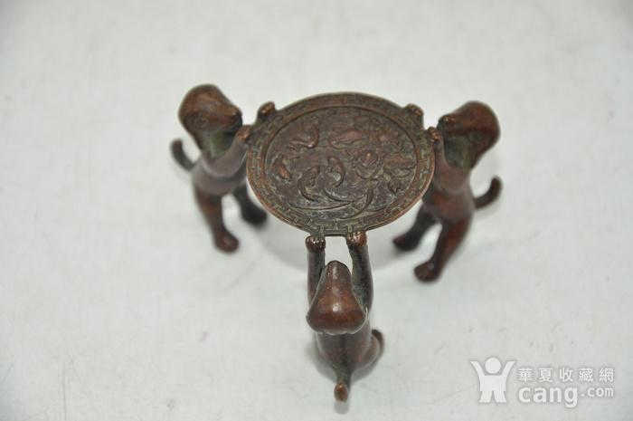日本茶道铸铜小摆件图4