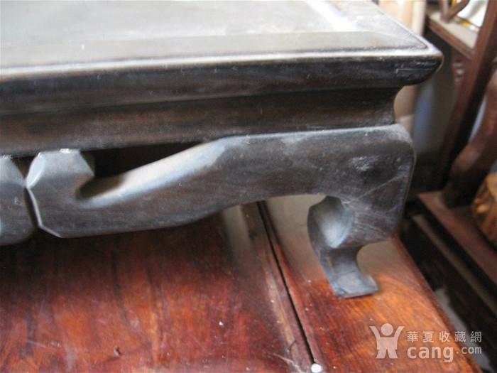 明清瓷杂0元拍  杂木老案桌一张图3