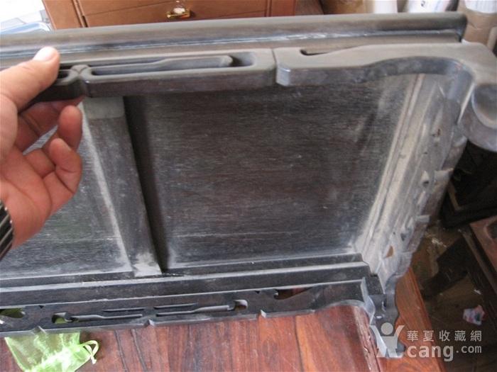 明清瓷杂0元拍  杂木老案桌一张图6