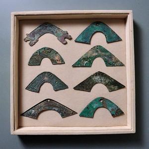 精细不同形状 币一盒八枚