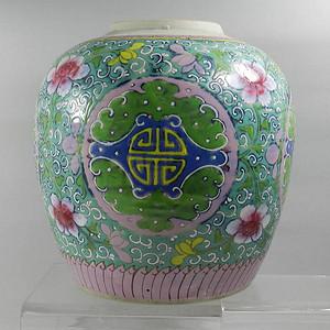 22厘米粉彩大罐 联盟