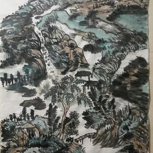 联盟山水画