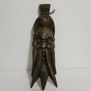 联盟清代人物木雕